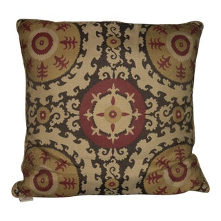 Elaine Smith Sunbrella Pillow For Sale