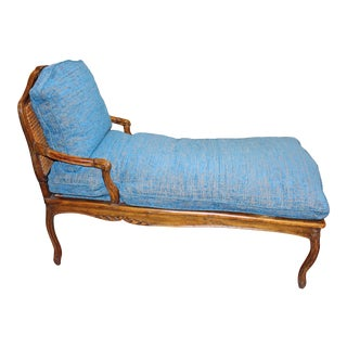Late 18th Century Country French Chaise Lounge For Sale