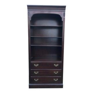 Ethan Allen Georgian Court Bookcase For Sale