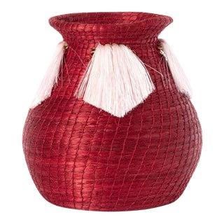 Mini Fanned Out Vase Bulbous Radish For Sale