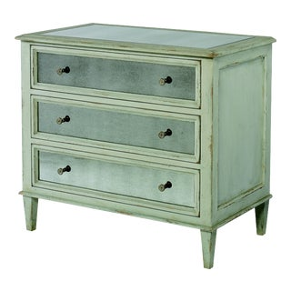 Century Furniture Madeline Nightstand, Mirrored For Sale