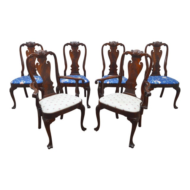 Councill Set of 6 Mahogany Dining Chairs For Sale