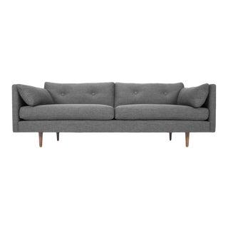 Modern Yumi Gray Sofa For Sale