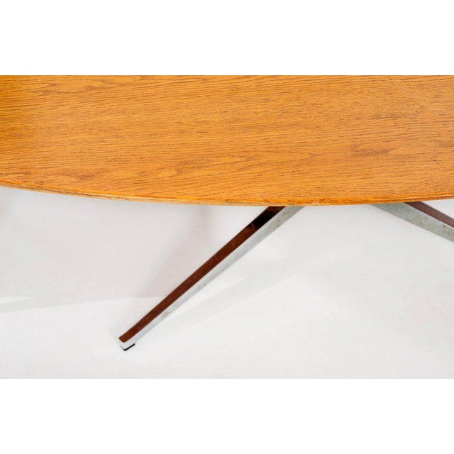 1960s Florence Knoll Dining Table or Desk For Sale - Image 5 of 8