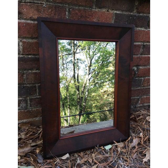 Antique Mahogany Mirror - Image 3 of 7