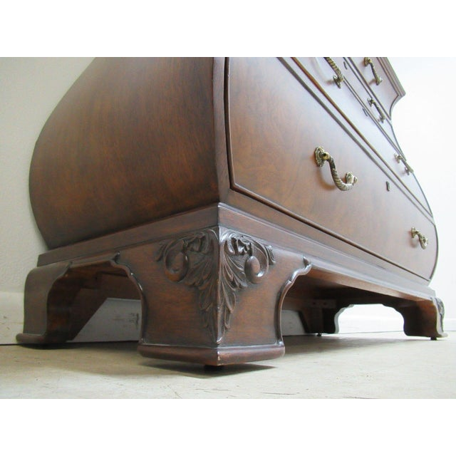 Ethan Allen Townhouse Bombay Chest French Dresser Console - Image 10 of 11