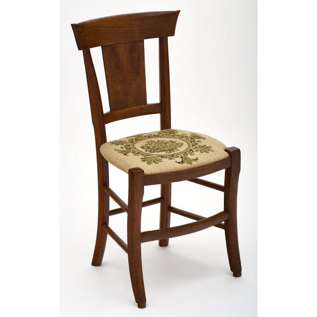 Awe Inspiring Six Directoire Period Walnut Dining Chairs Chairish Pabps2019 Chair Design Images Pabps2019Com