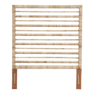Maritime Twin Headboard, Natural For Sale