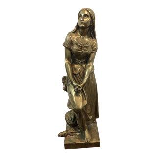 Eugene Laurent Bronze Sculpture For Sale