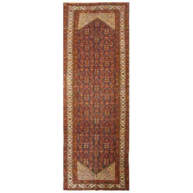 Antique Persian Malayer Rug - 5′5″ × 16′8″ For Sale