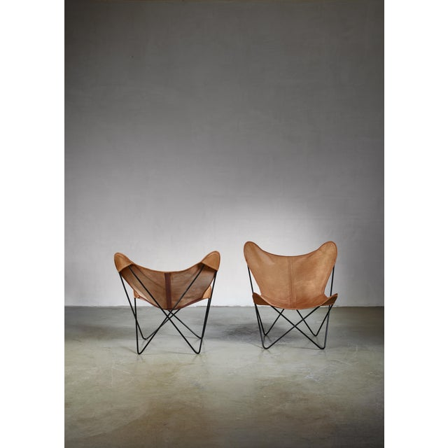 Knoll Pair of Knoll Butterfly Chairs For Sale - Image 4 of 5