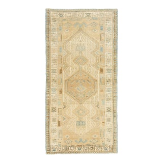 *Naqshi Antique Vintage Persian Hamadan Rug For Sale