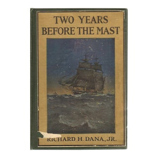 "1916 ""Two Years before the Mast"" Collectible Book For Sale"
