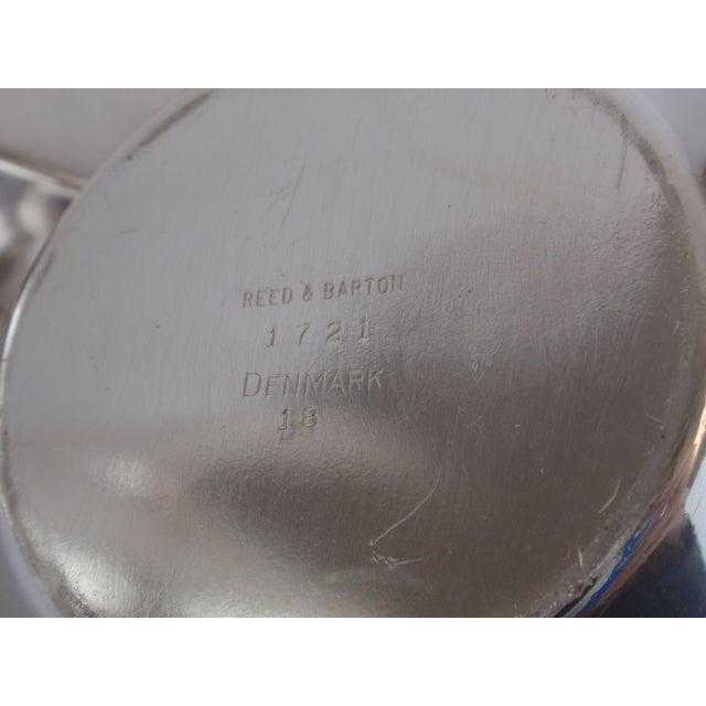 John Prip for Reed & Barton Denmark Modernist Coffee Tea Set - Image 5 of 10