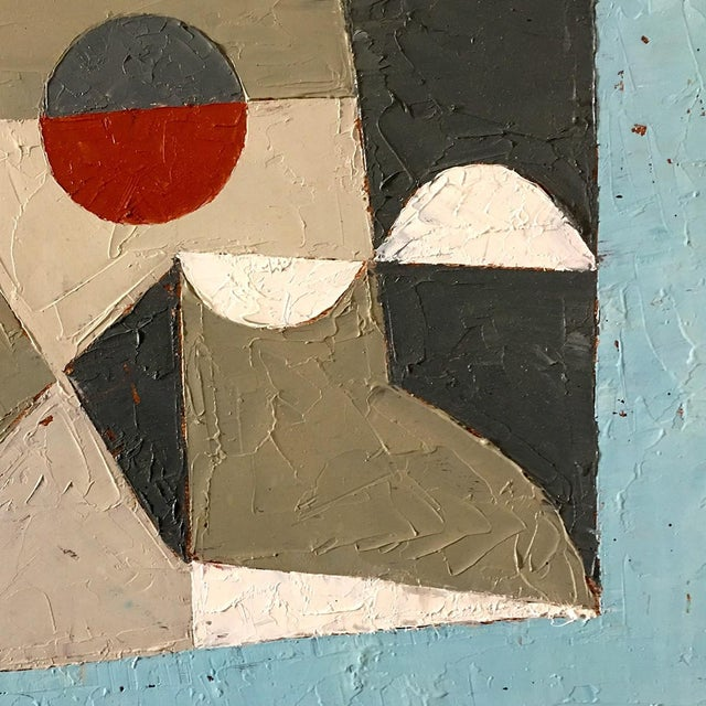 """Abstract Jeremy Annear """"Moon Field"""", Painting For Sale - Image 3 of 4"""