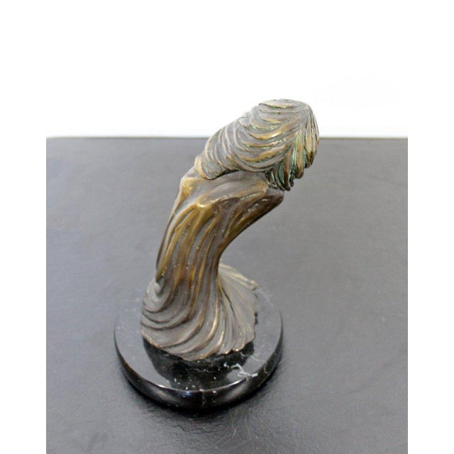 Late 20th Century Contemporary Modern Surrealist Tom Bennett Signed Bronze Marble Sculpture For Sale - Image 5 of 7