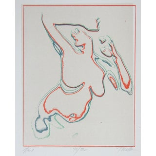 Portfolio 3 Todd Walker Abstract Nude Serigraphs For Sale