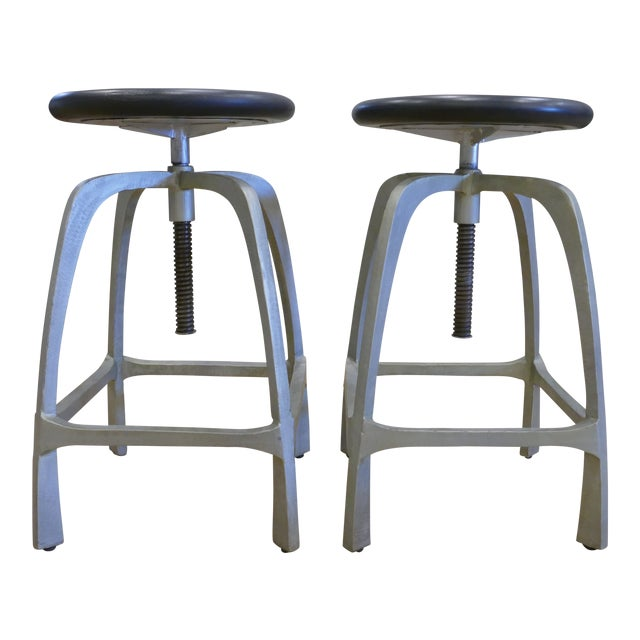 Beckett Counter Stools - A Pair For Sale