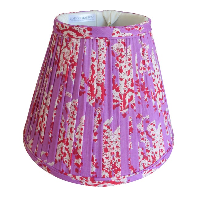 Custom Maison Maison Gathered Lamp Shades For Sale