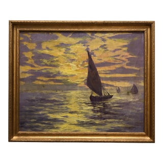 1929 Impressionist Oil Painting by Winifred Owen For Sale