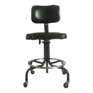 1970s Vintage Industrial Office High Chair For Sale