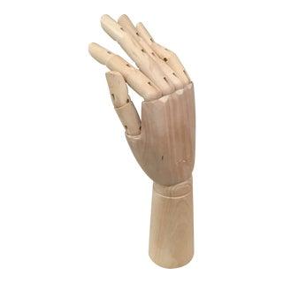 Wooden Articulated Artists Hand