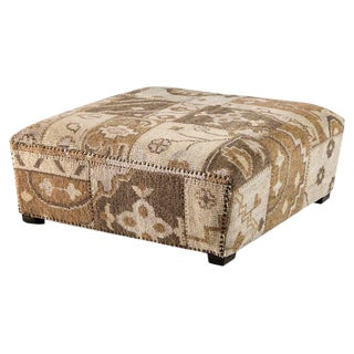 Interlude Home Clover Cocktail Ottoman For Sale