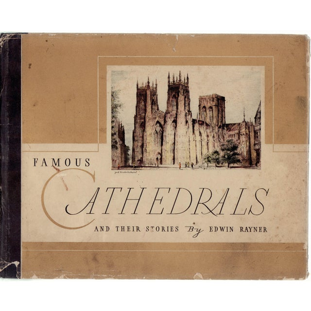 Famous Cathedrals and Their Stories Book - Image 1 of 4