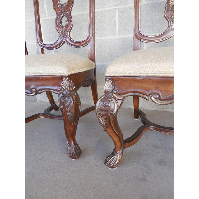 Ferguson Copeland Venetian Side Chairs - Set of 4 - Image 3 of 9