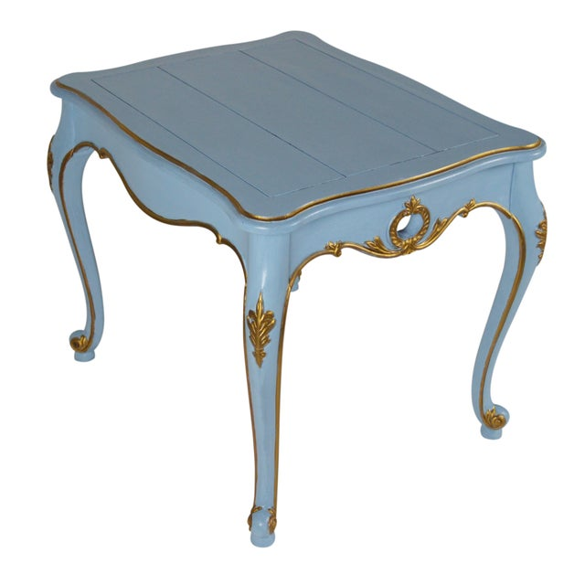 French-Style Side Tables - Pair - Image 2 of 4