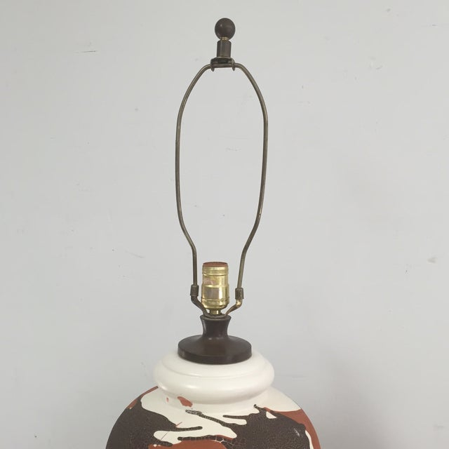 Royal Haeger Drip Glaze Table Lamp - Image 6 of 10