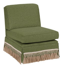 Image of Green Slipper Chairs