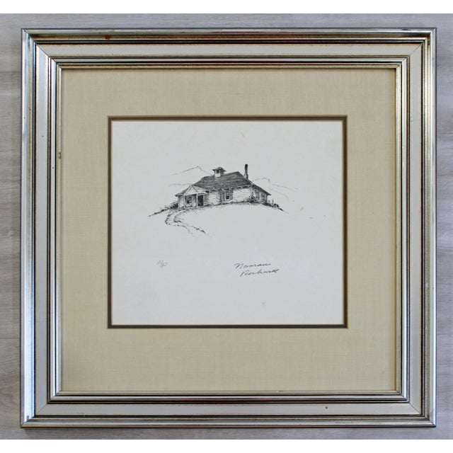 Norman Rockwell 20th Century Framed Modern Illustration a.p. Litho Signed Norman Rockwell 1947 For Sale - Image 4 of 4