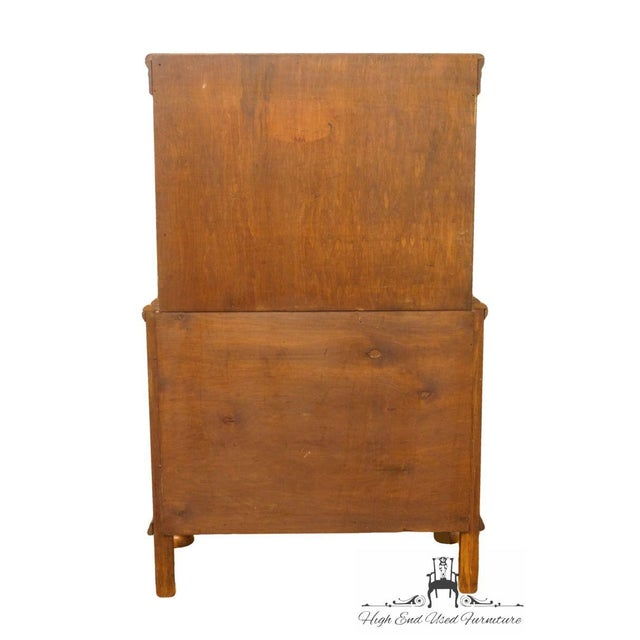 1920's Antique Jacobean Gothic Revival Solid Oak Cupboard For Sale - Image 12 of 13
