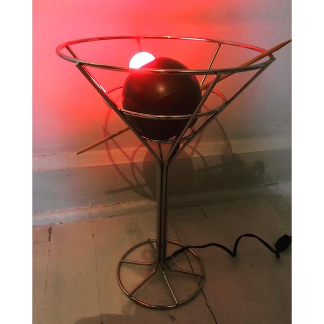 Mid-Century Modern David Krys Original Design Martini Lamp For Sale - Image 3 of 6
