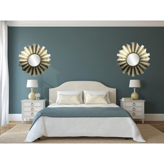 Stargazer Gold and Silver Leaf Accent Mirror Preview