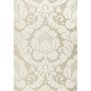 Anna French Pearl Marlow Pattern Wallpaper for Thibaut - 6 Rolls For Sale