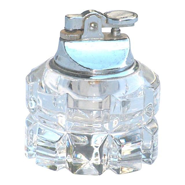 Art Deco Crystal Lighter For Sale