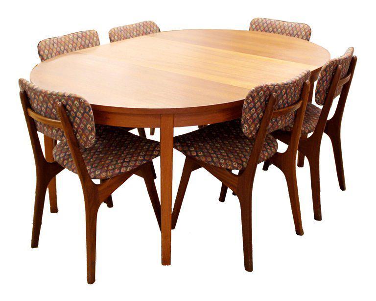 Superieur Mid Century Modern Arne Hovmand Olsen Danish Teak Dining Chairs   Set Of 6