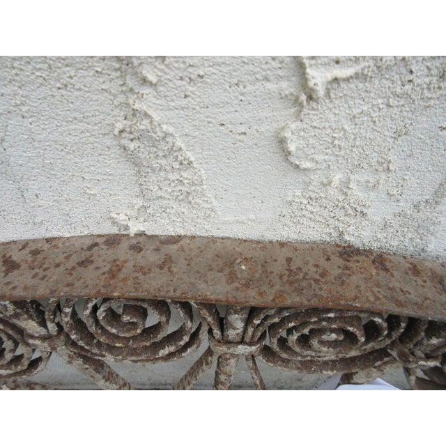 Antique Victorian Iron Garden Gate Window - Image 5 of 6