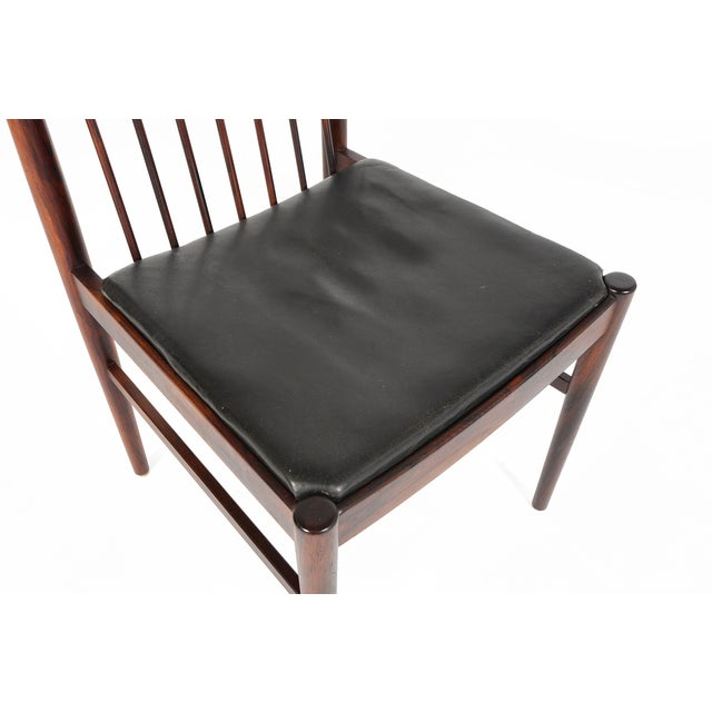 Arne Vodder Rosewood Dining Chairs - Set of 10 - Image 5 of 10