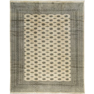 Traditional Bokhara Hand-Woven Rug - 12' X 15'