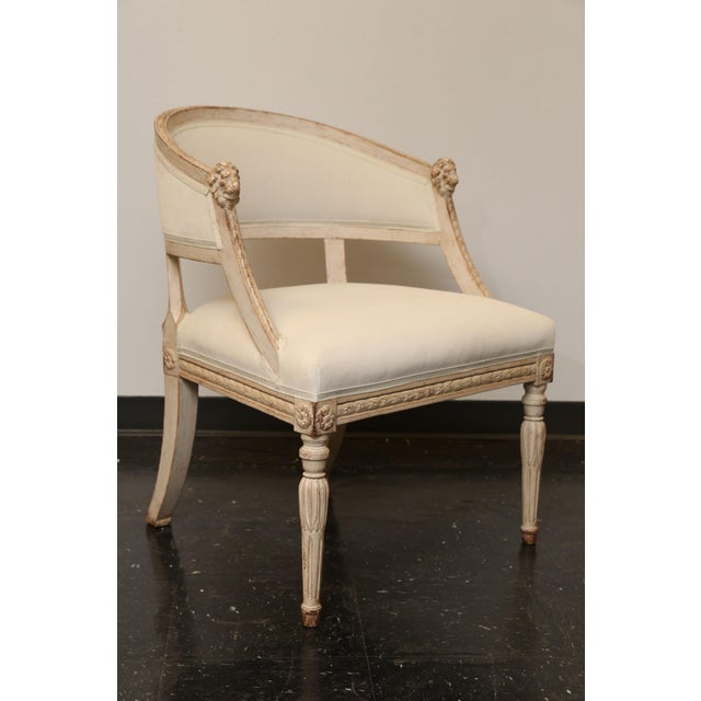 Pair of 19th Century Gustavian Barrel Back Chairs - Image 10 of 10