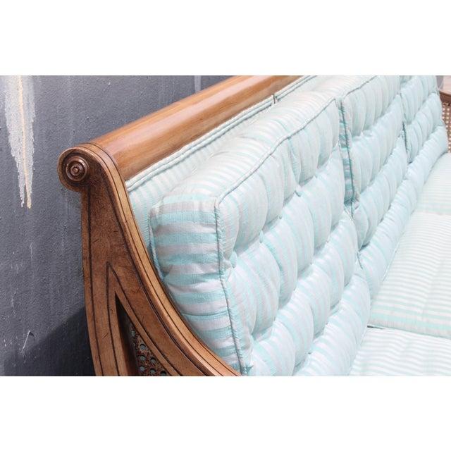 "Mid Century Neoclassical ""Hamptons"" Sofa - Image 6 of 11"