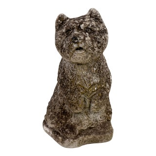 Early 20th Century Stone Dog For Sale