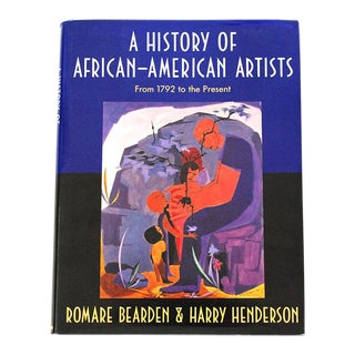 "1993 ""History of African-American Artists""1st Edition Book"