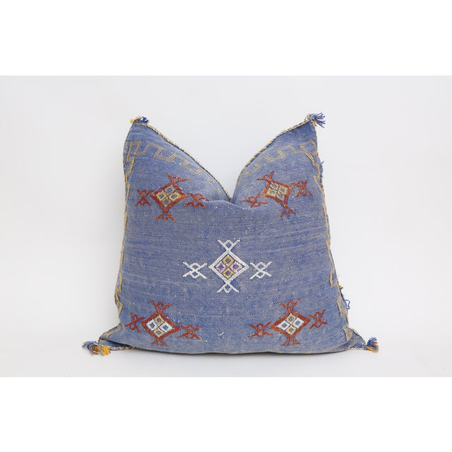Moroccan Sabra Cactus Silk Pillow Cover - Image 2 of 4