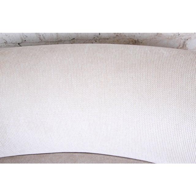 Vladimir Kagan Mid-Century Kidney-Shaped Sofa For Sale - Image 4 of 9