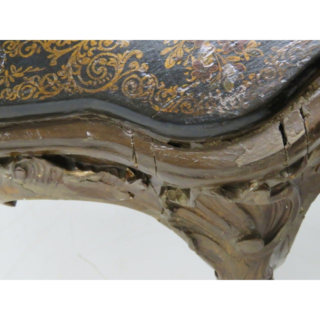 Carved Chinoiserie Decorated Coffee Table - Image 9 of 10