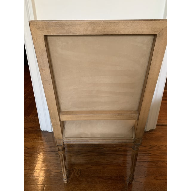 Contemporary Kreiss Carved Dining Chairs- Set of 9 For Sale - Image 3 of 4